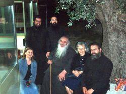 π. Γαβριήλ με τους ιερείς του Αγ. Ανδρέου