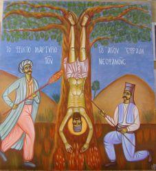Ο Άγιος Εφραίμ ο Νεοφανούς