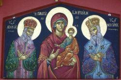 Ο Άγιος Λουκάς ο ιατρός, Η Παναγία των Βρυούλων, Ο άγιος Νεκτάριος ο Πενταπόλεως