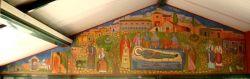 Η Κοίμησις της Αγίας Φιλοθέης (γενικό πλάνο)