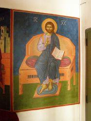 Λεπτομέρεια τοιχογραφίας από παρεκκλήσιο